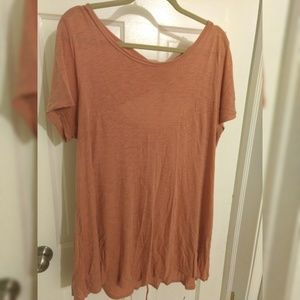 Anthropologie tunic with tie in back